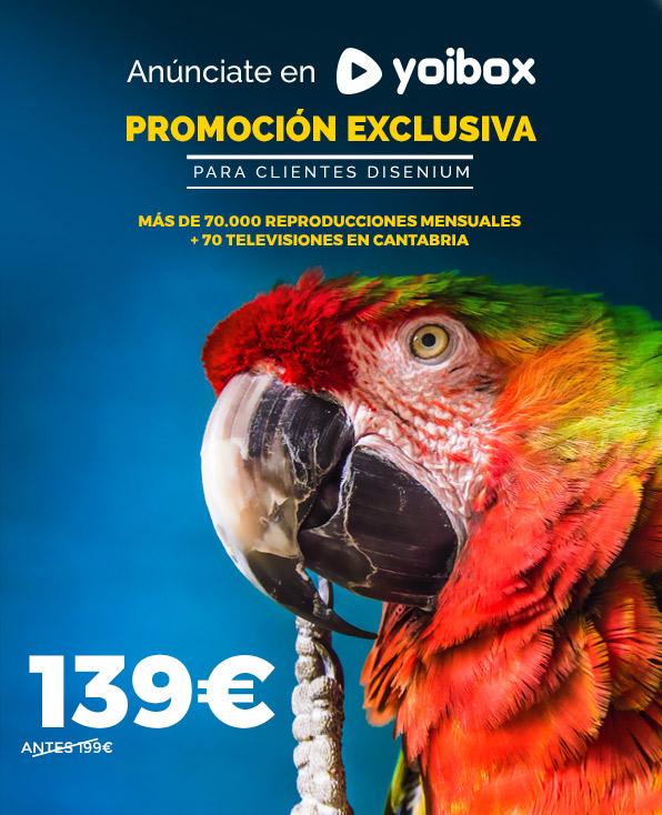 Promocion Yoibox, publicidad cantabria