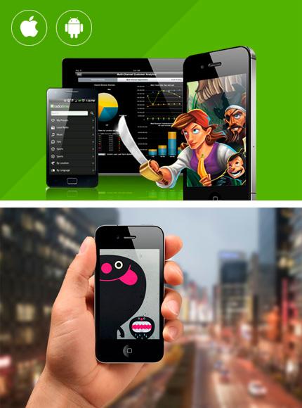 Desarrollo de Apps para movil y celular.