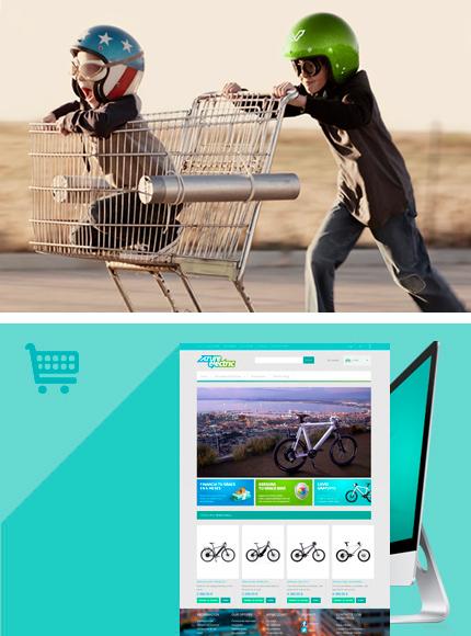 Tienda online. Comercio electronico.